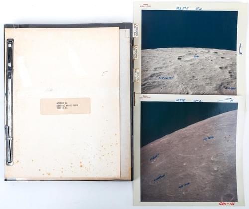 Apollo 14 General Lunar Surface Work Vol. III