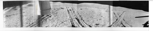 Luna 21: Amazing Soviet Panoramic Glossy Photos