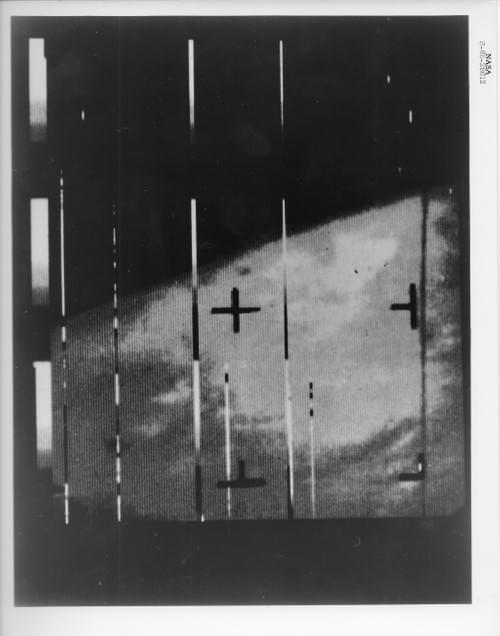 First close up picture of Mars, Mariner IV