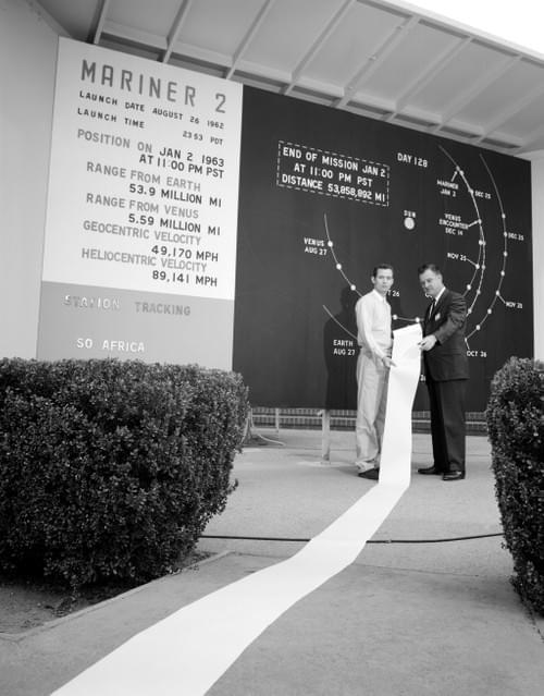 Mariner 2 Science Telemetry