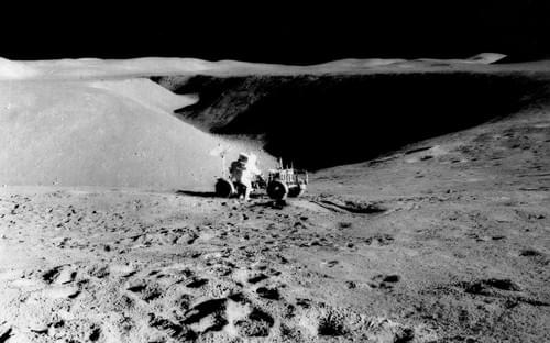 Nasa apollo 15 eva photos Mscl-78 Hadley ridle