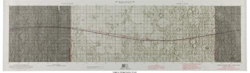 Apollo 12 Lunar Orbit Chart (ALO) 1st Edition