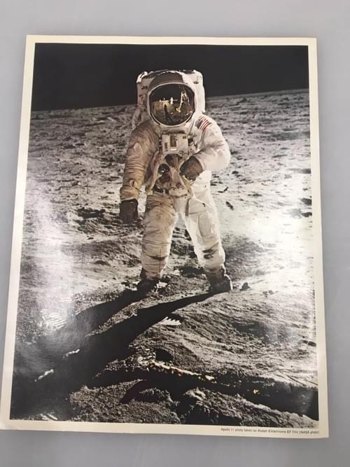 Apollo 11 Photo of Buzz Adrin on the moon