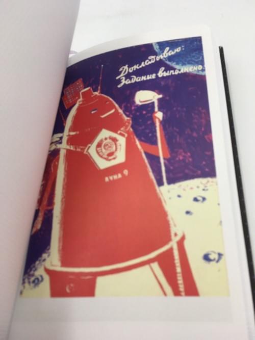 Russia-Notebook Kosmonaut Space Race Sputnik