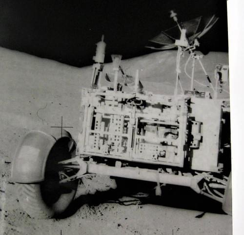 Nasa apollo 15  lunar rover scott station 2