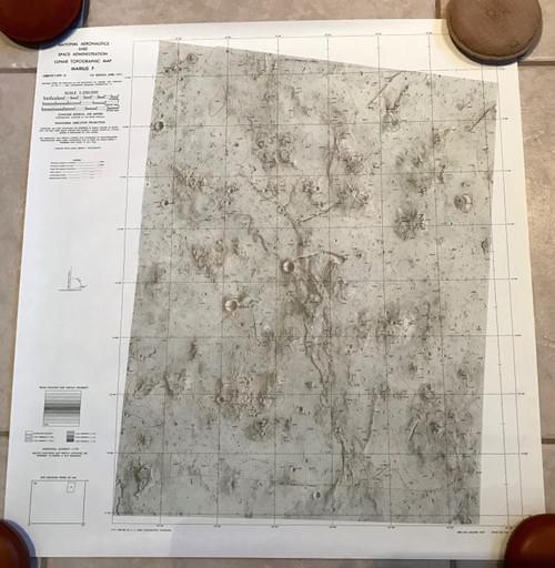MARIUS F- Lunar Topographic Map - NASA