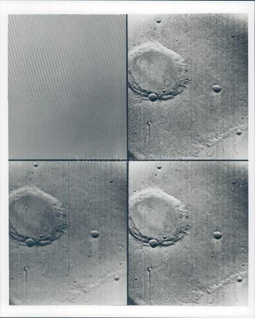 NASA Spots Space Craters (1969)