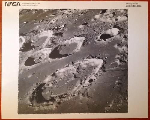 Apollo 8 black and white vintage photos
