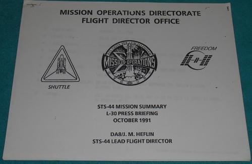 Space Shuttle STS-44 Mission Summary