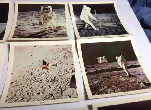 Official Original NASA Photos Of Apollo 11 Moon Landing Space
