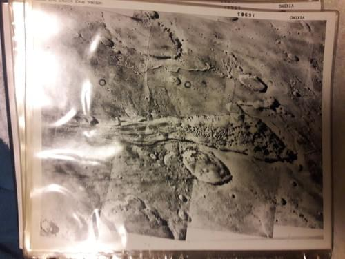 Original press releases photos of Mars from Viking I and Viking II  1976 - 1979