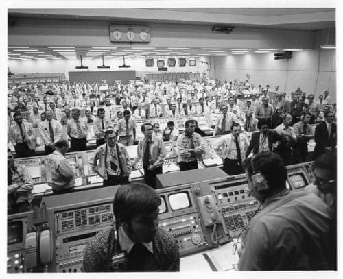 APOLLO 17  Launch Control Center at KSC