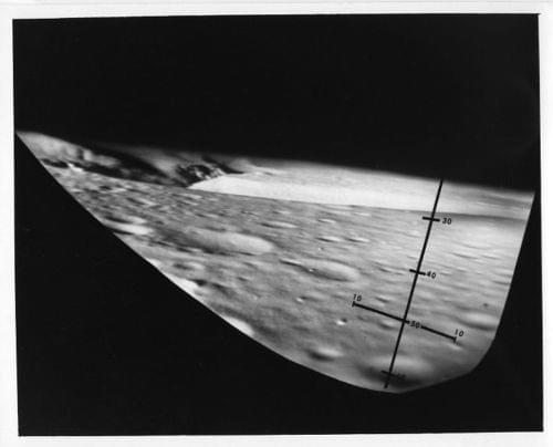 APOLLO 15  Moon View During Simulations