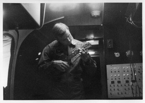 Apollo 11 - Neil Armstrong Plays Ukulele