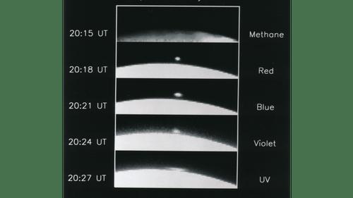 NASA. Observation of Jupiter by the Hubble telescope. July 1994