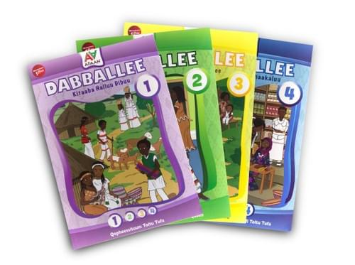 """Dabballee Series"":       A collection of 4 books -       in one set!"