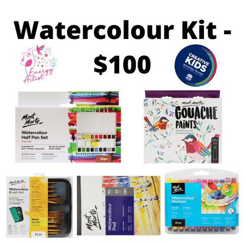 Watercolour Kit - $100