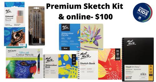 Premium Sketch and online - $100