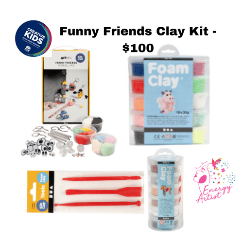Funny Friends Modelling clay - $100 Creative Kids