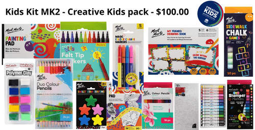PRE ORDER ONLY NOW FOR 2021 DELIVERY - Kids Kit MK2 - Creative Kids $100.00