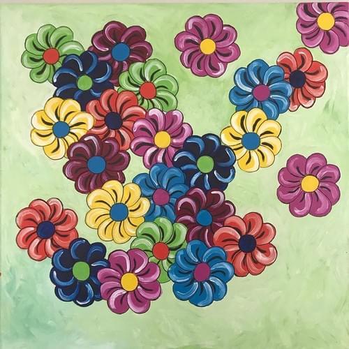 Fresh Flowers - Original Painting