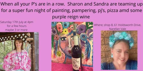Paint, Pamper, PJ's, Pizza & Purple Reign - Postponed