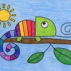 Chameleon Drawing Workshop - Wednesday 30th June 2021 - 10.30 - 12.00