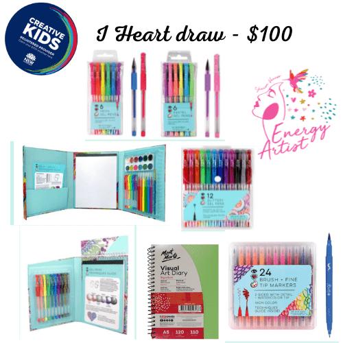 I Heart Draw - $100