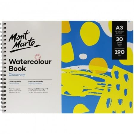 Watercolour Book A3