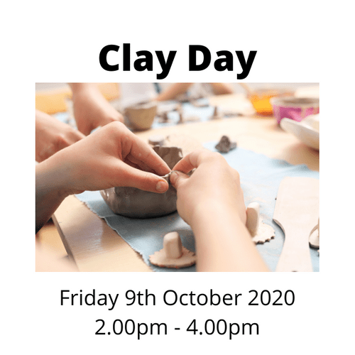 Clay Day - Working with air dried clay - Friday 9th October 2020