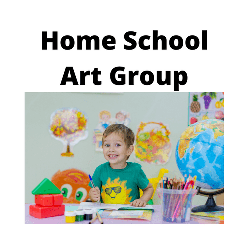 Home School Kids Creative Art Group - Weekly - Monday - 10.00 - 11.00 - Term 1 - All Age