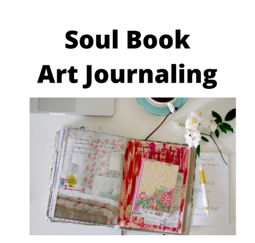 Soul Book - Art Journaling - Creative freedom - Creation not writing - anything goes