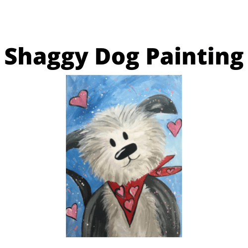 Shaggy Dog Paint workshop - Buy as an at home kit for school holidays