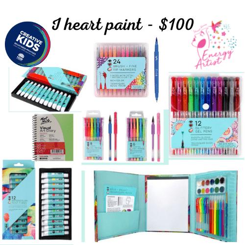 I Heart Paint - $100