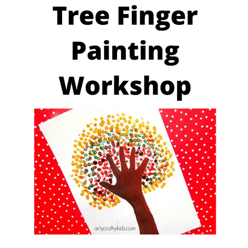 Tree Finger Painting - Workshop - Friday 16th April 2021 - 1.00 - 2.30