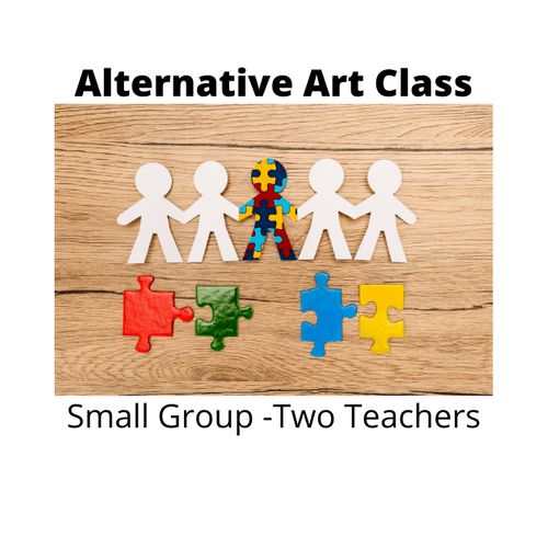 Alternative Creative Art Group - Weekly - Friday  4.00 - 5.00 Term 2 - Any Age
