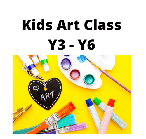 Kids Creative Art Group - Weekly - Monday - 5.30 - 6.30 Term 1 - Year 3 - Year 6