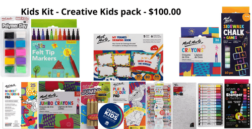 Kids Kit - Creative Kids $100.00
