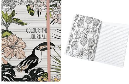 Colour This Journal - Tropicana