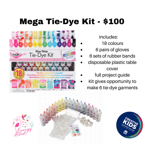 Mega Tie-Dye kit - $100 creative Kids
