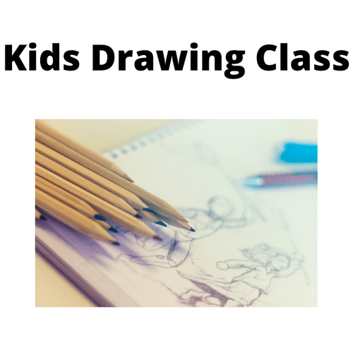 Kids Creative Art Group - Weekly - Wednesday 5.30 - 6.30 Term 2 - Drawing Class