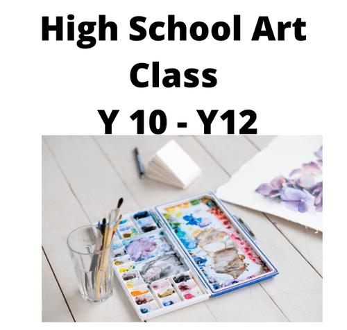 Kids Creative Art Group - Weekly - Thursday 4.00 - 6.00 Term 4 - Year 10 - Year 12 +