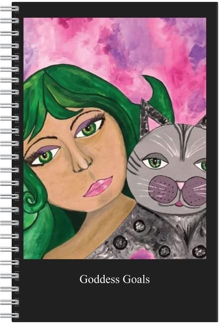 Goddess Goals Notebook