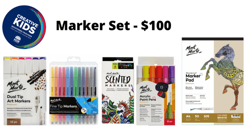 Marker Set - $100 - THIS KIT IS NOW AVAILABLE FROM 10TH FEBRUARY DUE TO STOCK SHORTAGES