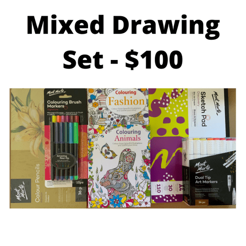 Mixed Drawing Set - $100