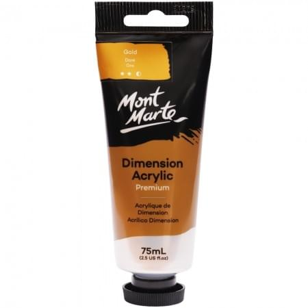 Dimension Acrylic Gold - 75ml