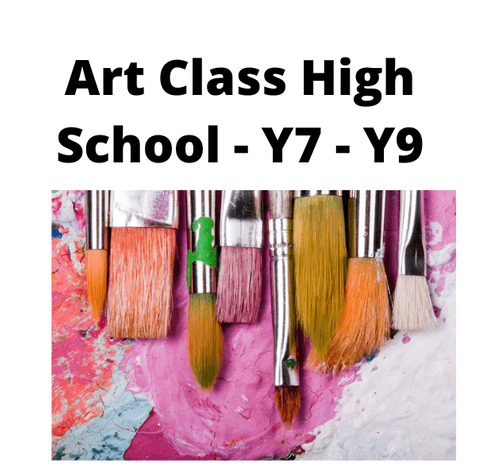 Kids Creative Art Group - Weekly - Tuesday - 4.00 - 5.00 Term 1 - Year 7 - Year 9