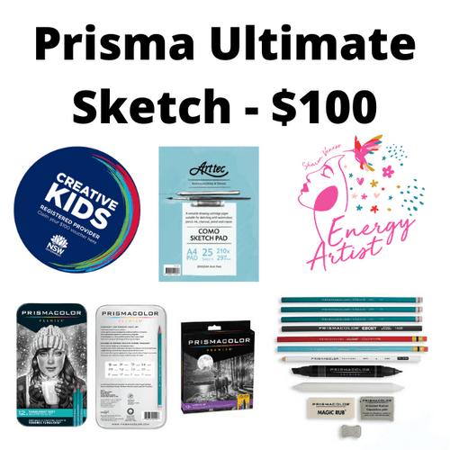 Prisma Ultimate Sketch Kit - $100