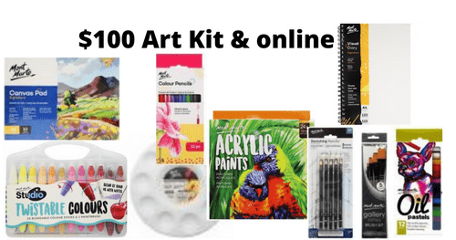 Paint kit and Online - $100