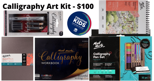 Calligraphy Kit - $100 - This kit is available from 1st February